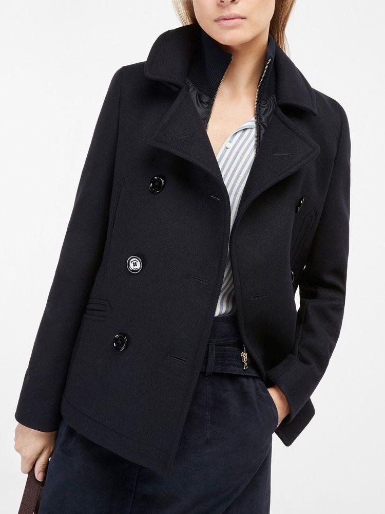 5fec110c95248 Nwt massimo dutti zara group coat jacket with detachable lining size ...