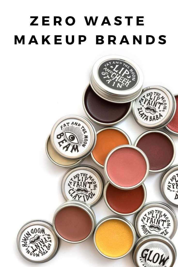 14 Zero Waste Makeup Options for Glamming Up and Going Green #makeupgoals