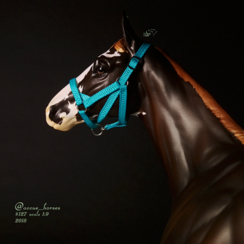 Thoroughbred race cloth back number saddle pad Breyer Peter Stone model horse