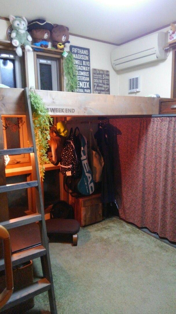 ロフトベッド自作 3 9畳極狭部屋 Diyで作れるシステムベッド狭いから