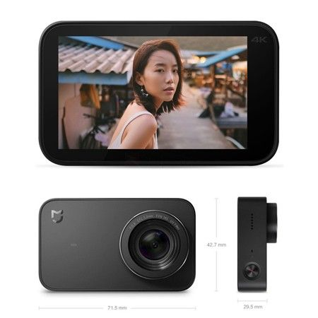 Xiaomi Mijia 4k Mini Action Camera Touch Screen Action Camera Buying Camera Camera