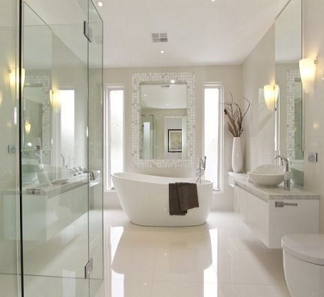Dise os de ba os modernos para casas buscar con google for Disenos de cuartos de banos modernos