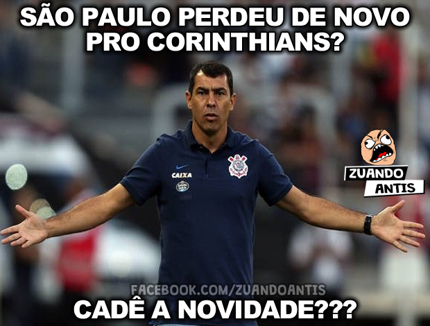 Memes Da Derrota Do São Paulo Para O Corinthians