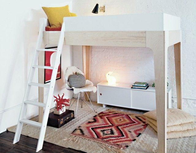 Un Lit Mezzanine Pour Gagner De La Place Ideas For The House Lit