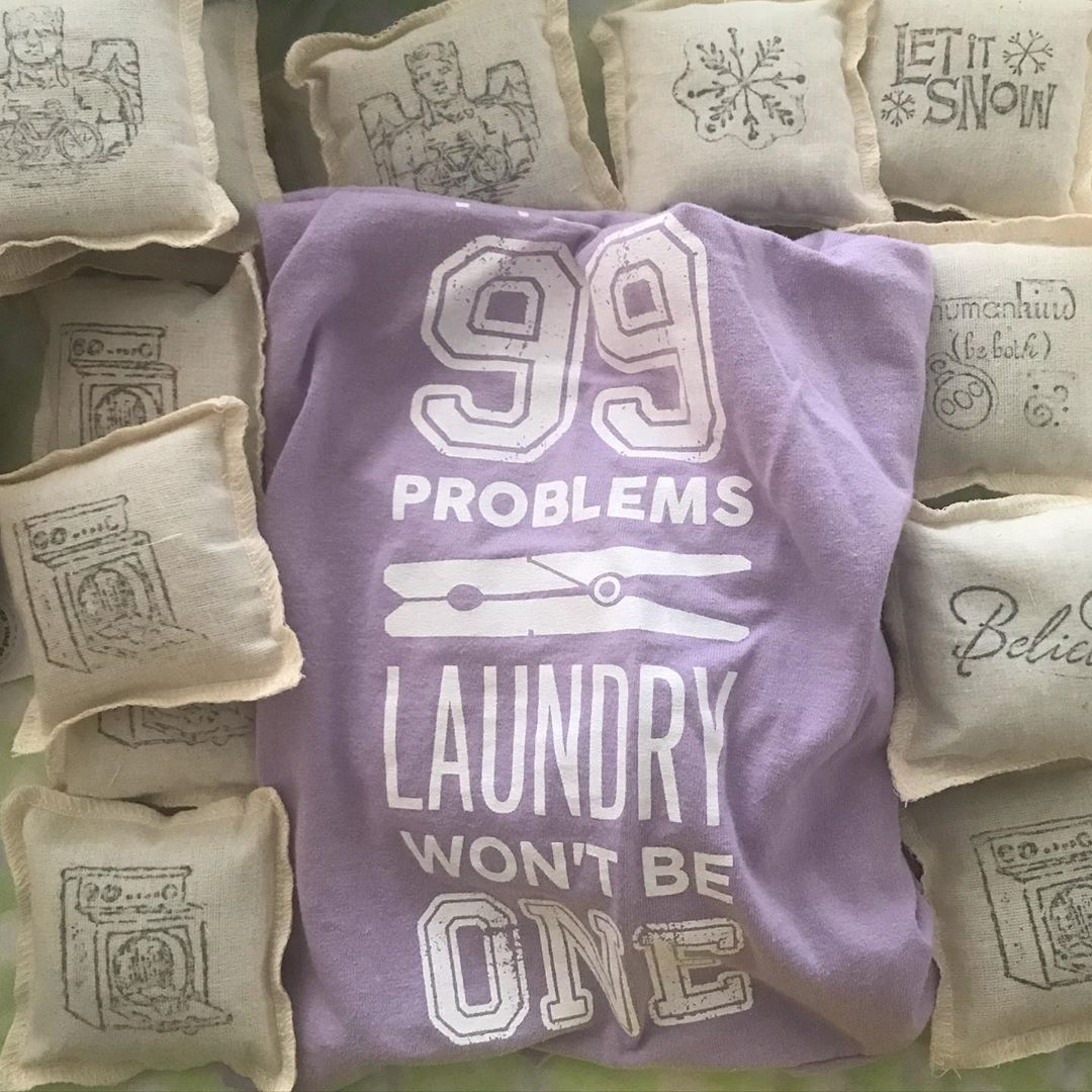 """Jane Pierce on Instagram: """"99 problems and laundry isn't one of them! Use these Money Saving #chemicalfree alternative to dryer sheets freshen #laundry with lavender…"""""""