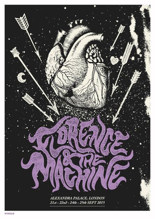 Florence and the Machine Poster//Music//Art//Modern Design//Pop Art//Poster//Limited Edition