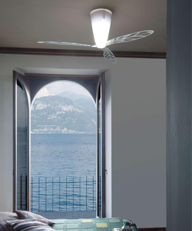 Für Kühle Luft Im Schlafzimmer Sorgen U2013 Ventilator Hilft: Blow Decken  Ventilator Von Luceplan   So Schläft Deutschland   Pinterest