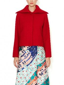 Oscar De La Renta - Diamond Quilted Cardigan (worn by Emma Swan on Once Upon A Time )