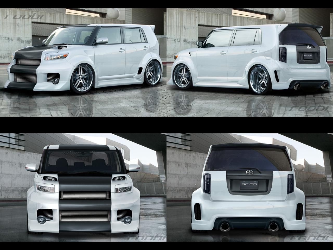 Scion xb tuning wallpaper