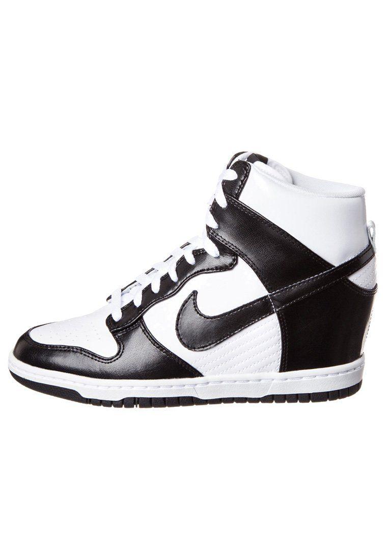0181bc1bdf6 Nike Sportswear - DUNK SKY HI - Enkellaarsjes met sleehak - Zwart ...