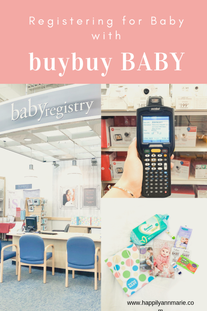 Registering for Baby with buybuy BABY Happily Annmarie