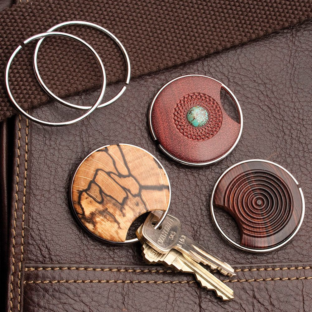 Artisan Wire Key Ring Kit 3 Pack Wood Turning Projects