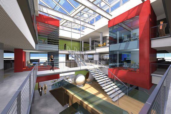 Interior University Atrium Design Best Interior Design Atrium