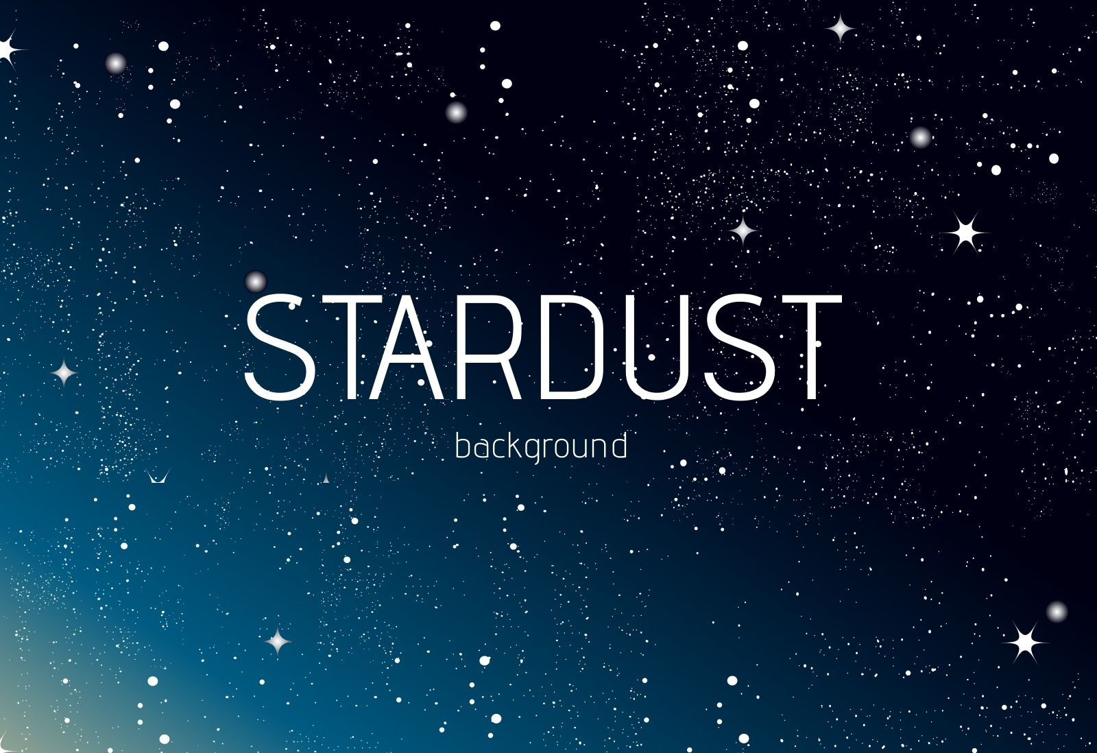 Galaxy stardust. Vector background choose from