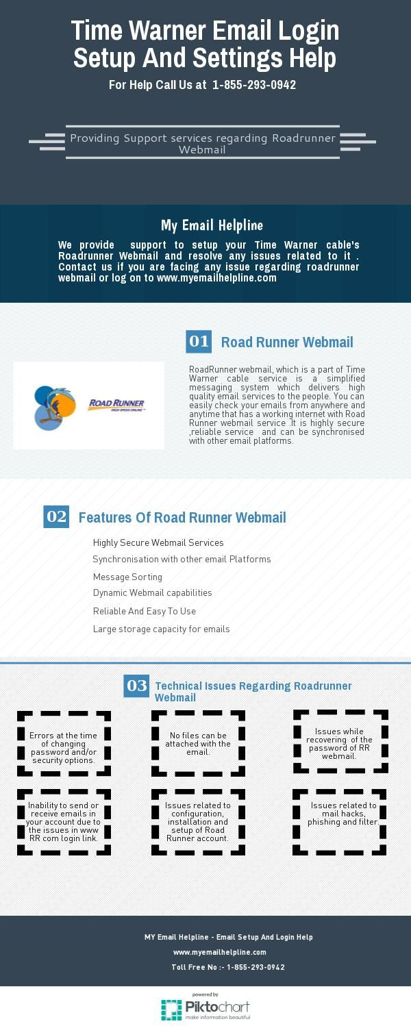 Road runner email sign in - Time Warner Email Login Setup And Settings Help My Email Helpline Provides Support To Setup Time Warnerroad Runnercableemailsupport