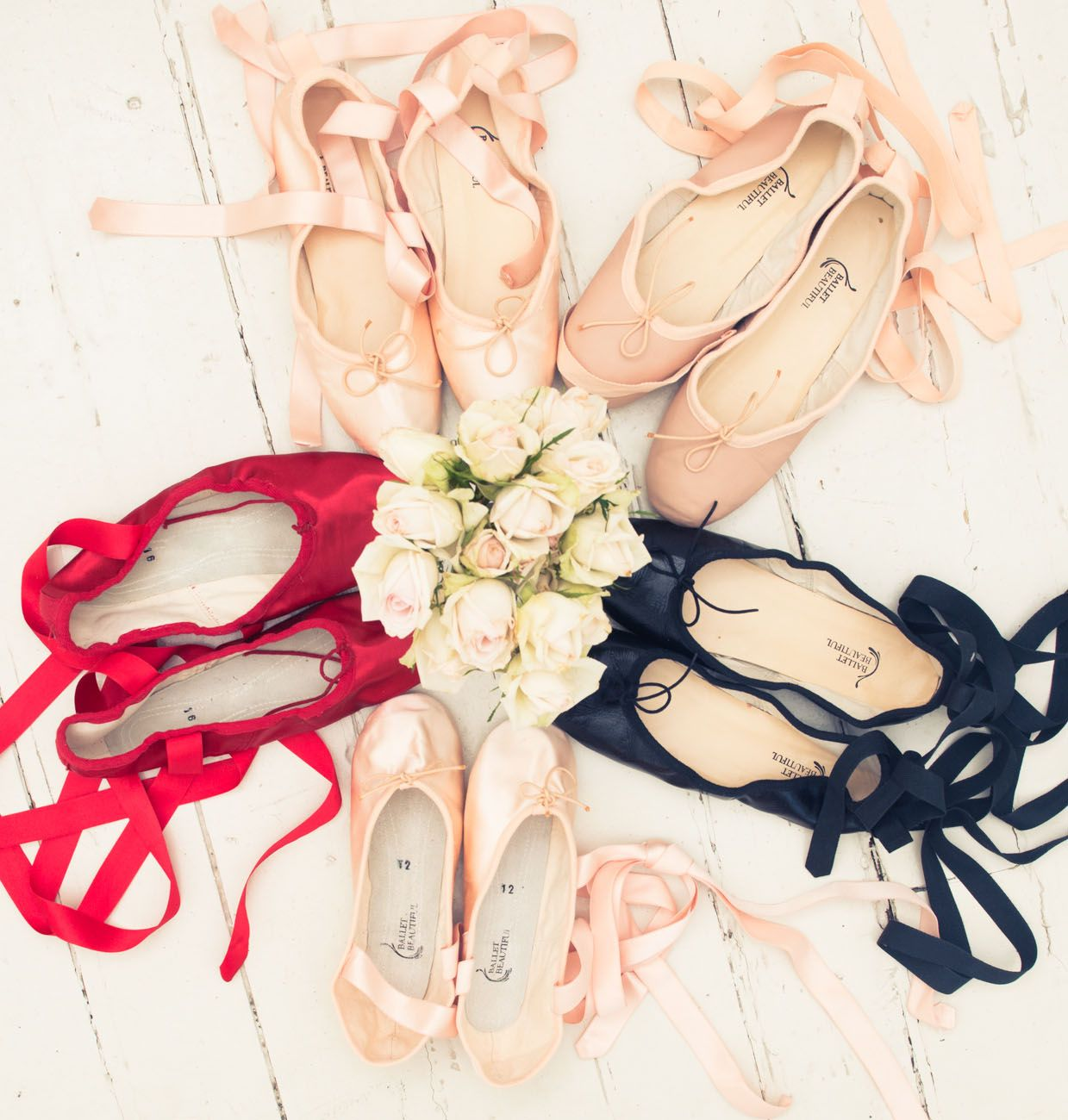 """""""I think a girl's first pair of pointe shoes are always special. Mine are the tiniest little pair of pink Capezios that you have ever seen!""""http://www.thecoveteur.com/mary-helen-bowers-ballet-beautiful/"""
