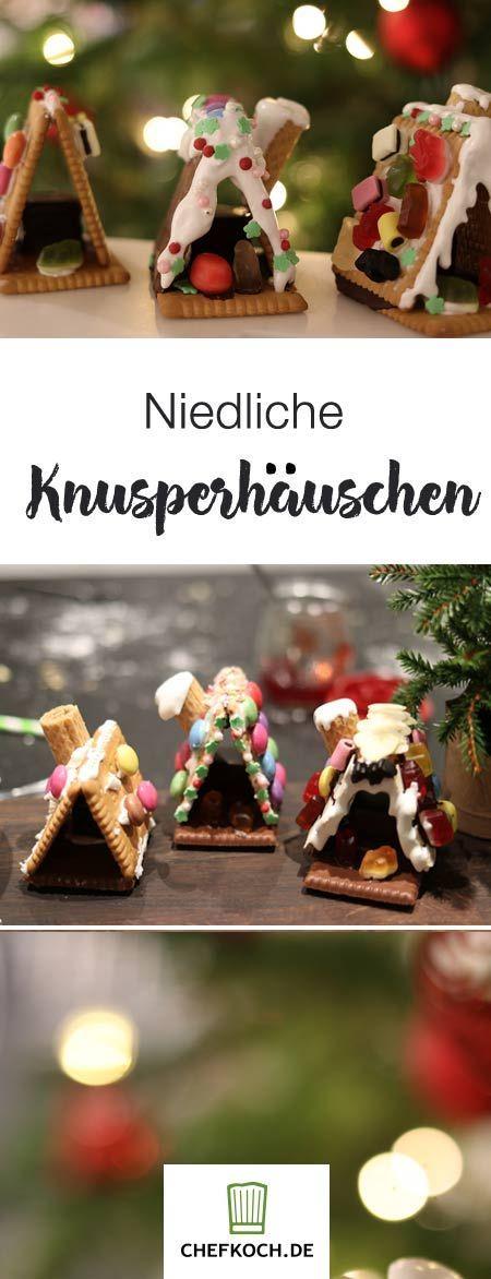 Mini - Knusperhäuschen | Chefkoch #childrenpartyfoods