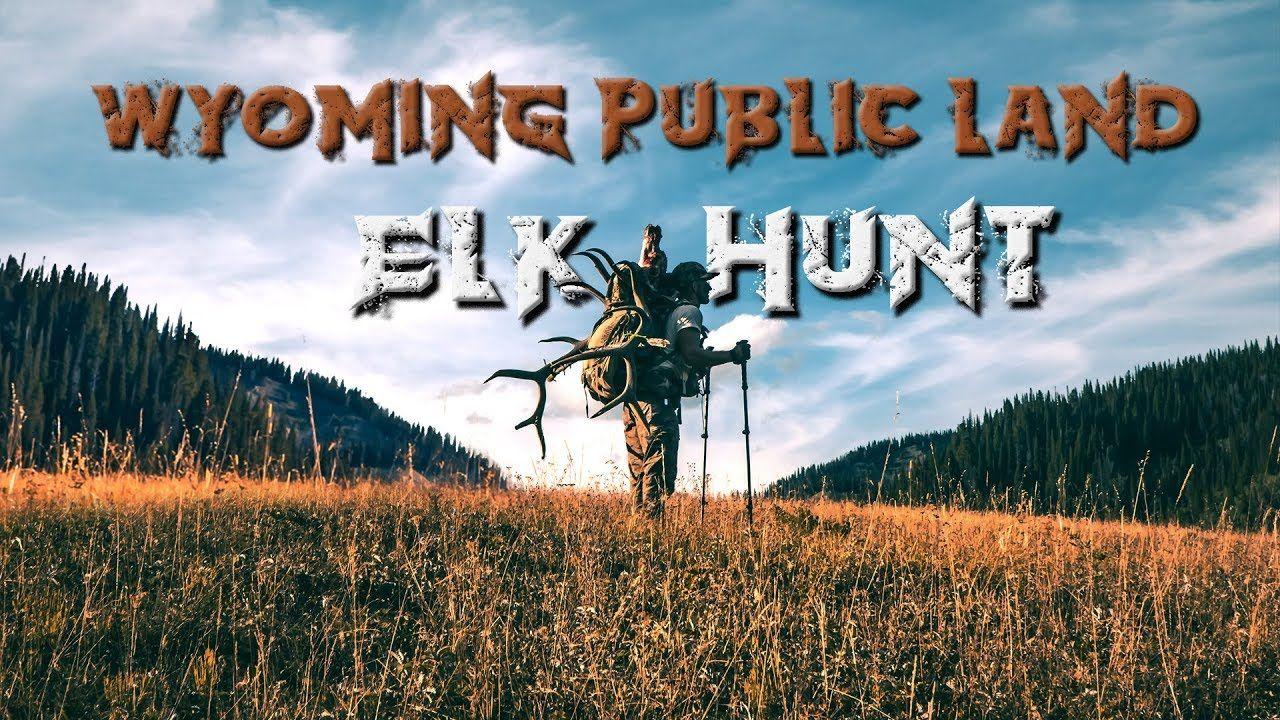 6x6 bull wyoming public land diy elk hunt 2019