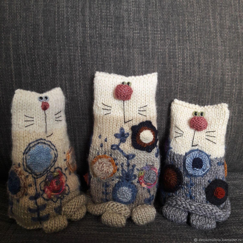 Расписные кошки матрешки) (с изображениями) | Куклы ручной ...