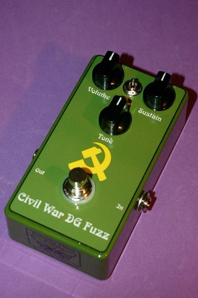 Civil War DG Fuzz guitar pedal by Butterfly Effect Pedals.