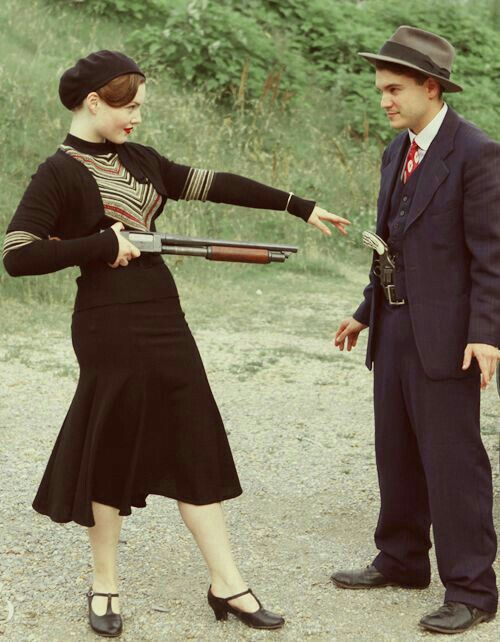 Conosciuto Pin by 😍PaceLea💙 Shaw on Bonnie & Clyde | Pinterest | Bonnie  XX27