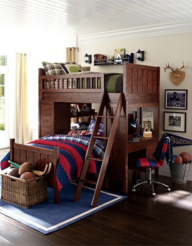Boys Bedroom Idea 1 Pottery Barn Kids I Love These Bunk