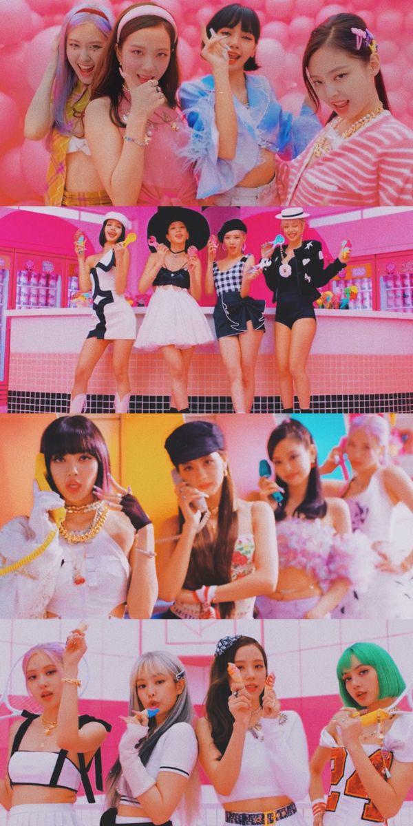 Blackpink X Selenagomez Ice Cream Mv Wallpaper Wallpapers Lockscreens Lockscreen 블랙핑크 Lisa 리사 Rose ᄅ Em 2020 Blakpink Blackpink Jennie Blackpink