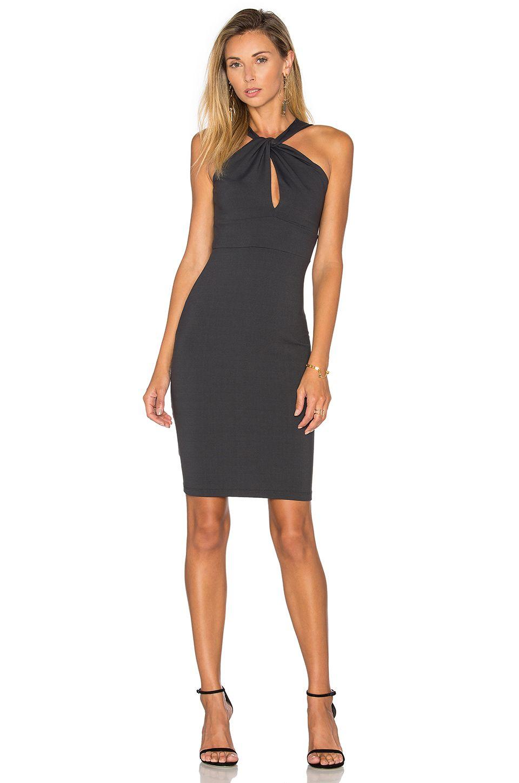 Susana Monaco Aura Dress en Onyx | REVOLVE