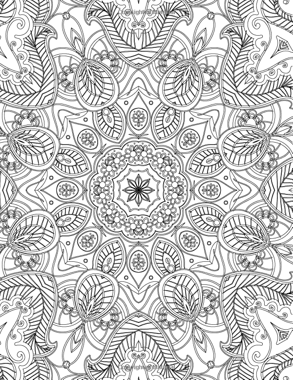 create masterpiece coloring pages | The Mandalas Colouring Book: Just Add Colour and Create a ...