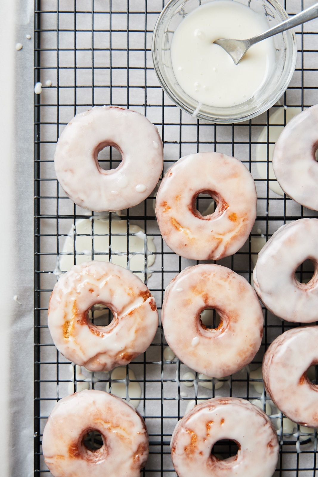 Homemade Sour Cream Glazed Doughnuts The Best Easiest Olive Mango Recipe In 2020 Food Homemade Sour Cream Donut Recipes