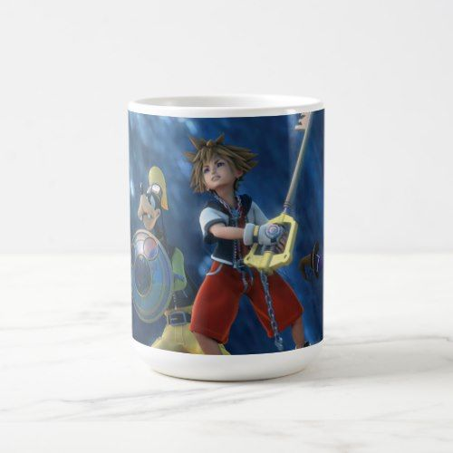 Kingdom Hearts | Sora, Goofy, & Donald Film Still Coffee Mug | Zazzle.com #disneycoffeemugs