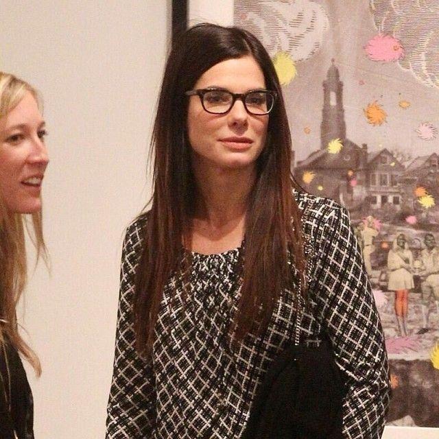 71def1d670 Sandra bullock looking good in glasses