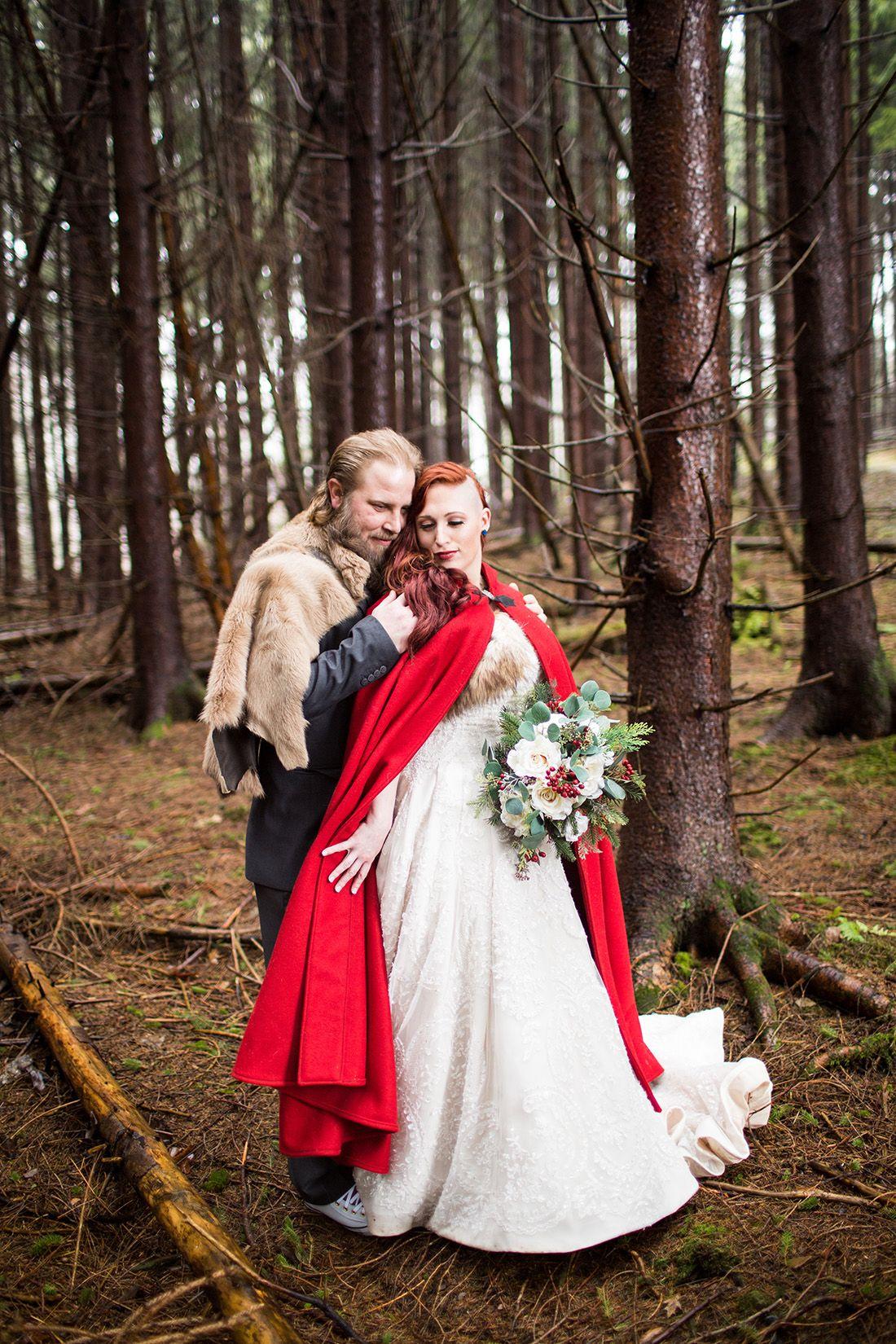 Red Wedding Inspiration Savage River Lodge Elopement Elizabeth Jacob Jessica Fike Deep Creek Lake Photographer