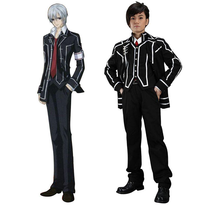 ee152eb556a08 Vampire Knight Day Class Black Male School Uniform Cosplay Costumes ...