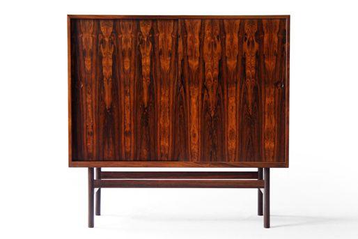Danish Rosewood Credenza : Skive mØbelfabrik danish mid century modern rosewood credenza