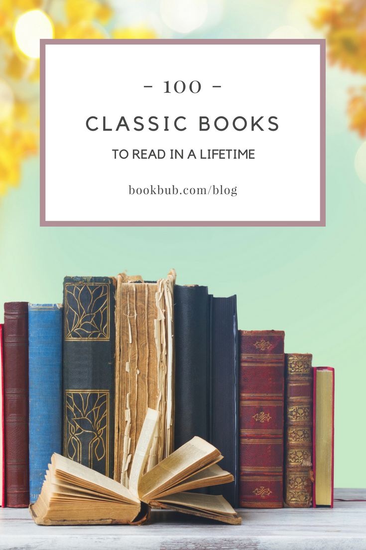 Reading Challenge: 100 Classics to Read in a Lifetime ...
