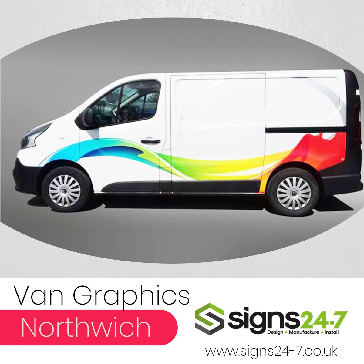 Searching For Van Graphics Designing Company In Northwich We Are
