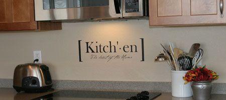Kitchen Vinyl
