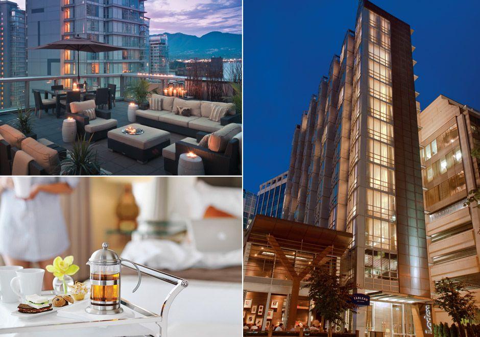 5 Star Diamond Loden Hotel In Vancouver Bc Canada