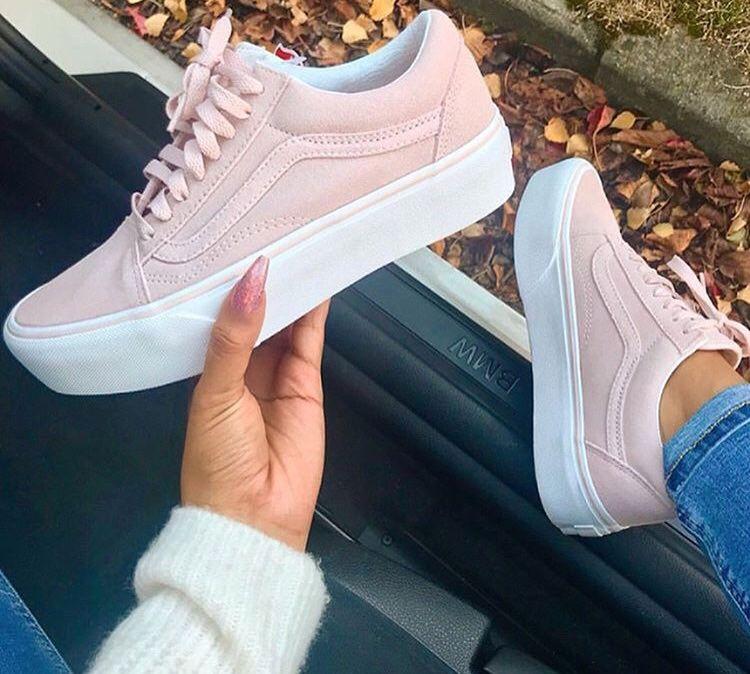 munición Rebelión puenting  Zapatos rosas pastel | Scarpe rosa, Scarpe vans, Scarpe