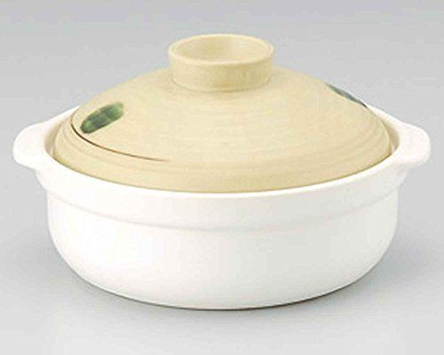 Yamabuki for 34 persons 103inch Donabe Japanese Hot pot White Ceramic Made in Japan * You can get more details by clicking on the image.(This is an Amazon affiliate link and I receive a commission for the sales)