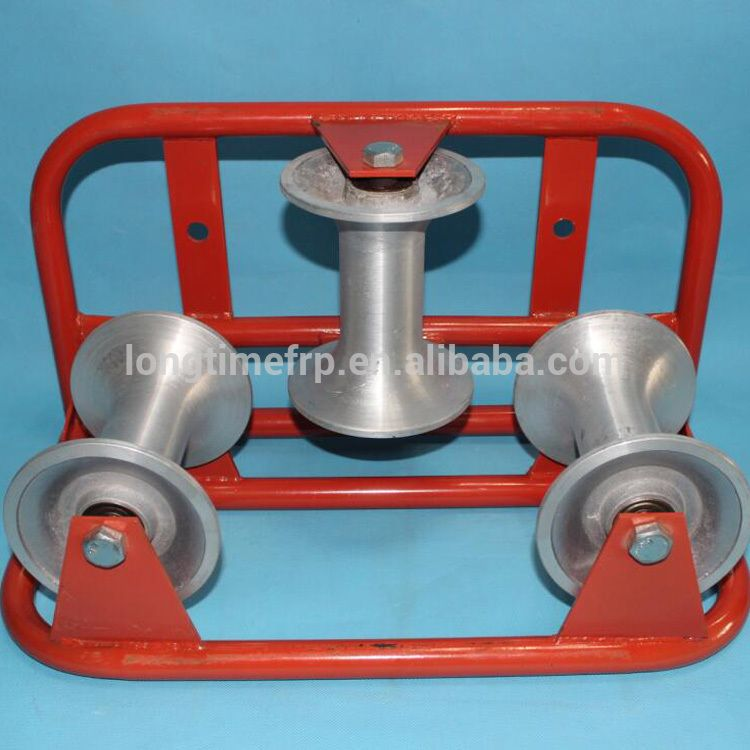 High Quality Straight Cable Pulling Roller | CABLE ROLLER ...