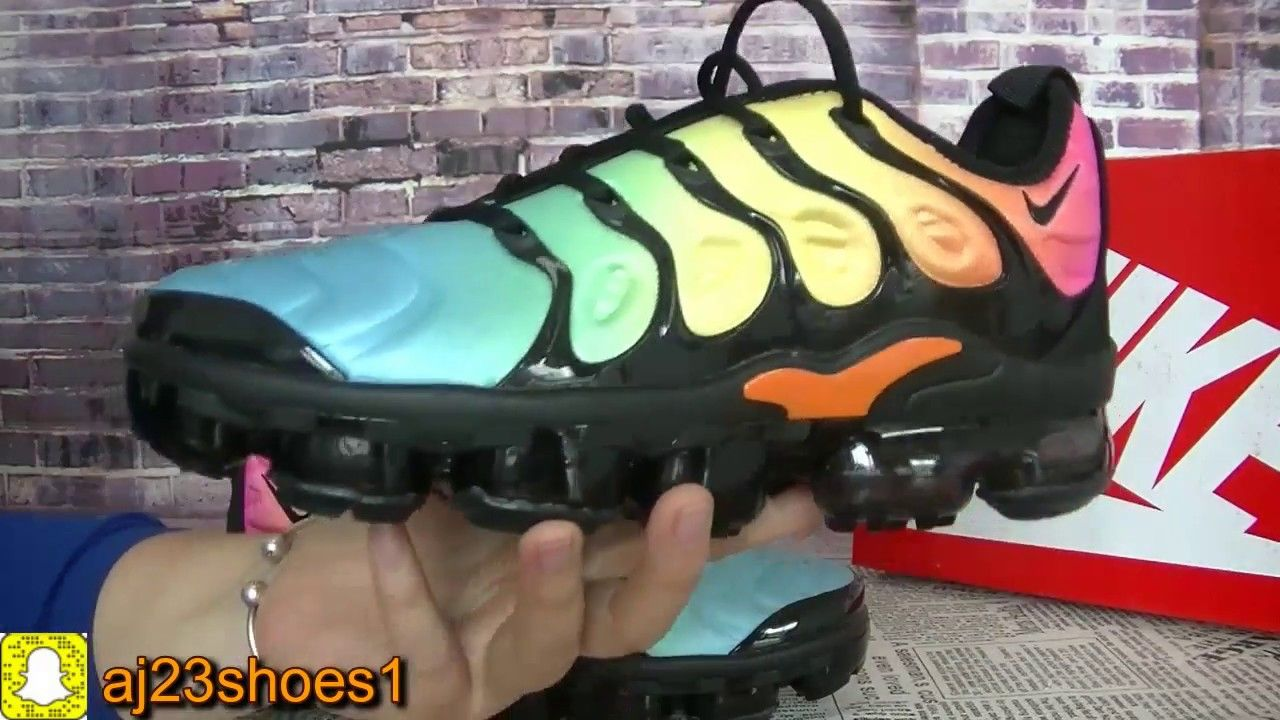 2ec15a378c79ae NIKE VAPORMAX PLUS TROPICAL SUNSET REVIEW. Find this Pin and more on Youtube  Shoes ...