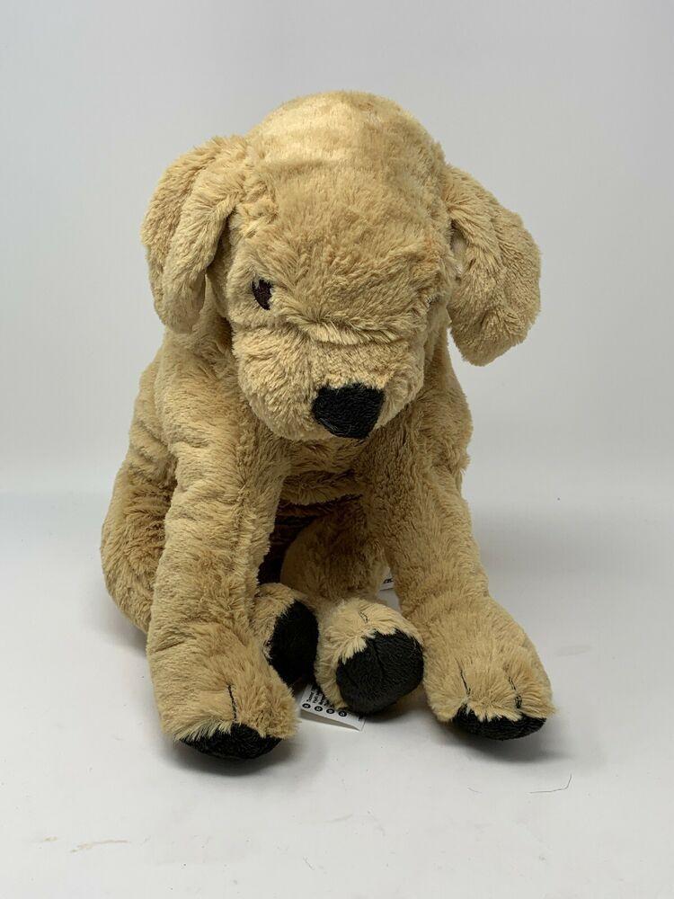 Ikea Plush Golden Retriever Gosig 15 Puppy Dog Soft Stuffed