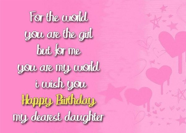 Happy Birthday Card Messages Funny Wishes For Daughter