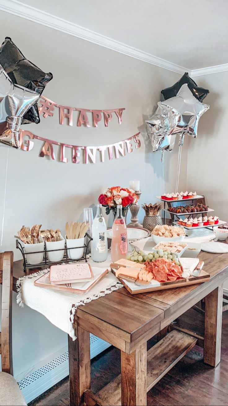 Galentines day galentines party birthday dinner party