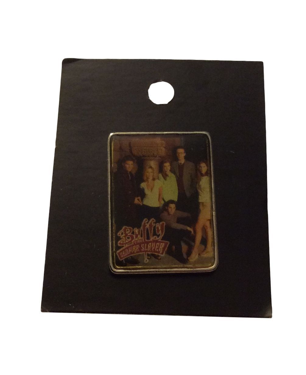 Buffy The Vampire Slayer Photo Enamel Metal Pin Licensed