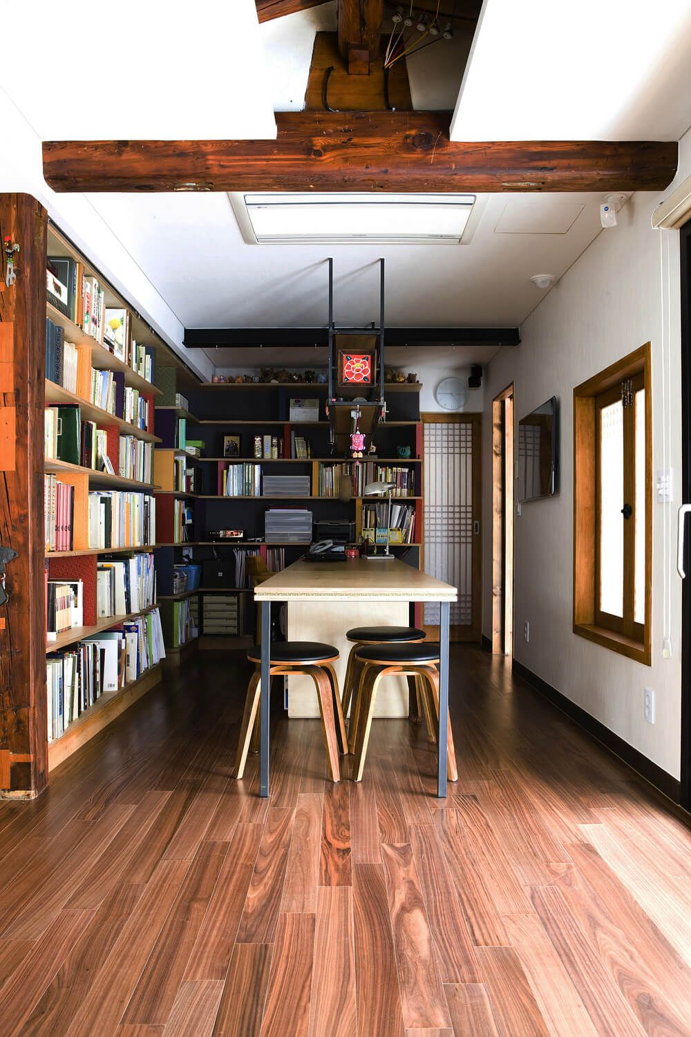 Study rooms minimalist home traditional korean building architecture house design