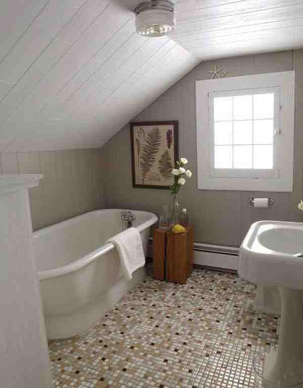 38 Creative Small Attic Bathroom Design Ideas Suitable For Space Classy Creative Small Bathroom Ideas Design Decoration