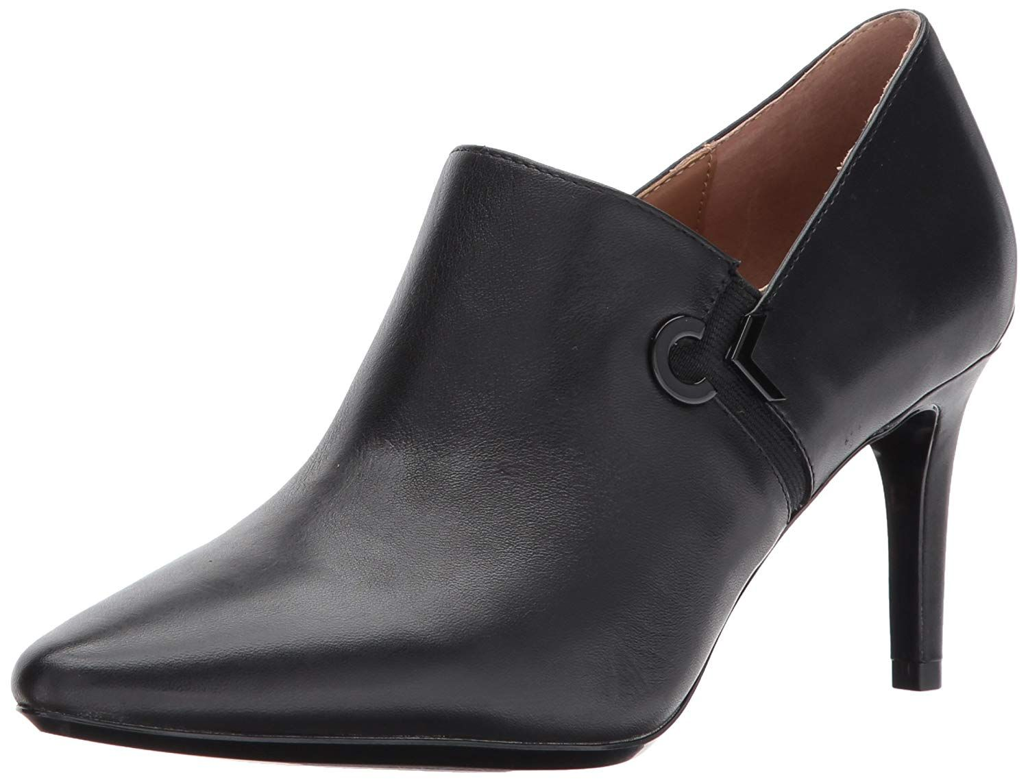 Calvin Klein Women's Joanie Leather Ankle Boot Very kind